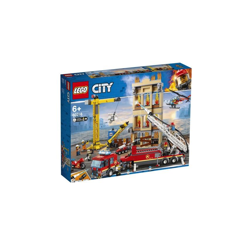 LEGO 60216 Straż pożarna w...