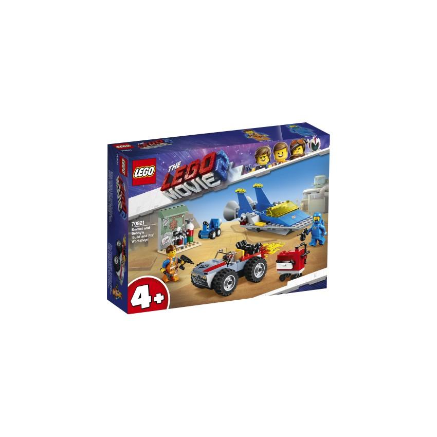 LEGO 70821 Warsztat Emmeta...