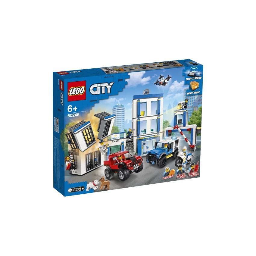 LEGO CITY 60246 Posterunek...