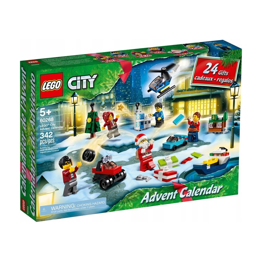 LEGO CITY 60268  Kalendarz...