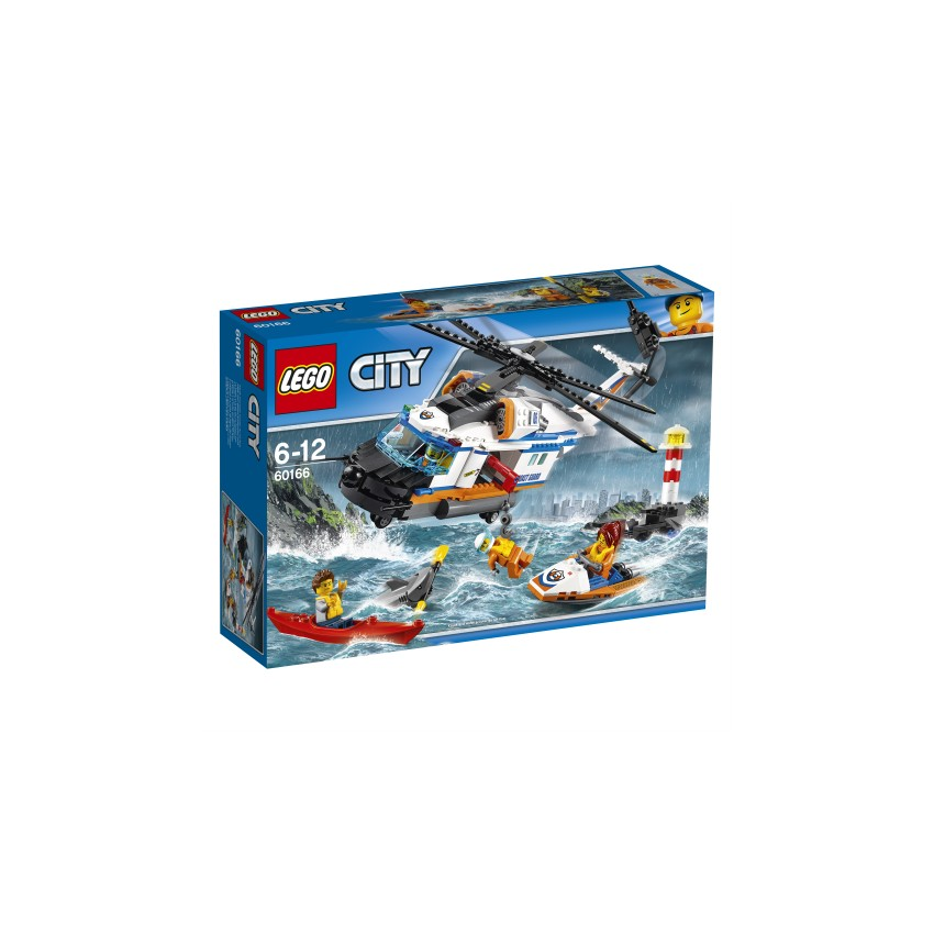 LEGO City 60166 Helikopter...