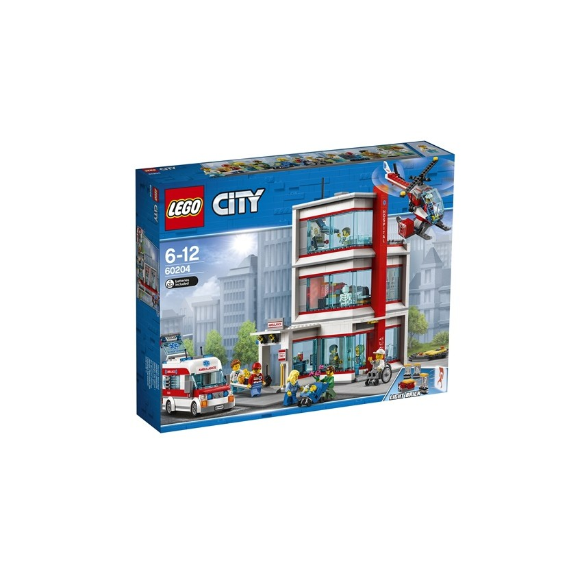 LEGO City 60204 Szpital...